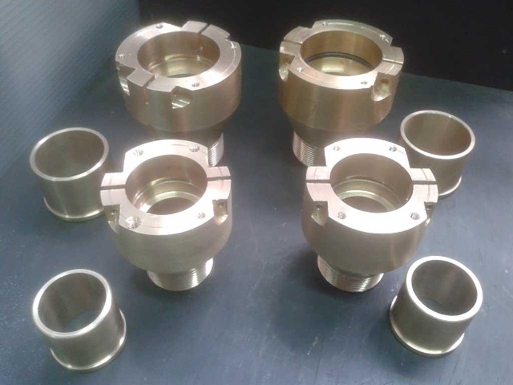 Reconstrucció de acoblaments en acer i alumini